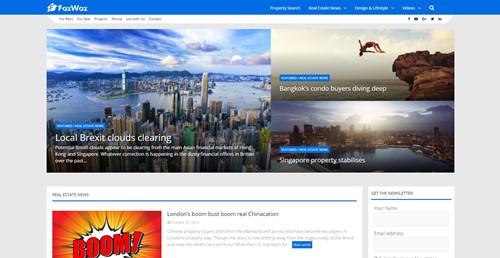 FazWaz News Homepage