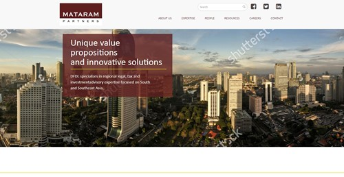 Mataram Law Homepage