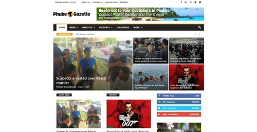 Phuket Gazette Homepage