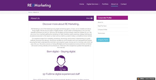 RE Marketing About Us