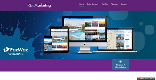 RE Marketing Homepage