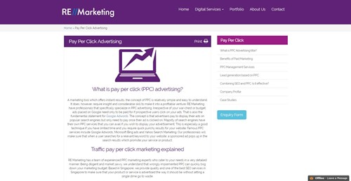 RE Marketing Pay Per Click