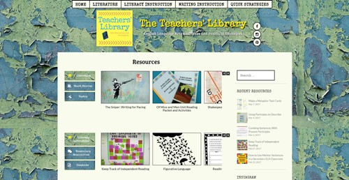 The Teachers Library Homepage